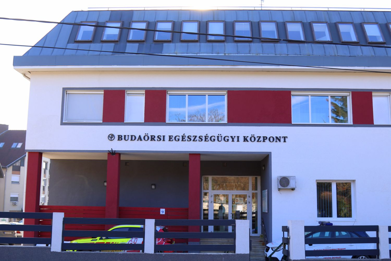 Átépítés a Budaörsi Egészségügyi Központban